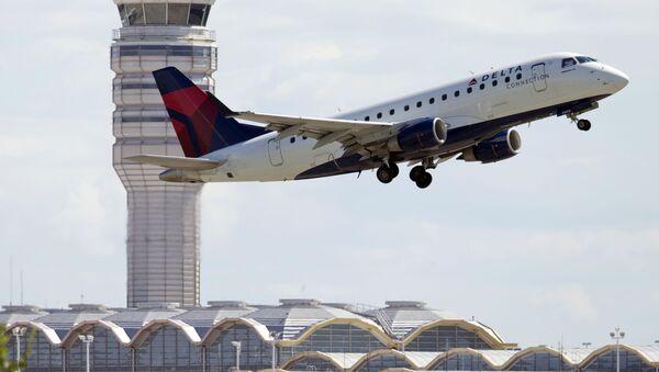 Letadlo letecké společnosti Delta Airlines - Sputnik Česká republika
