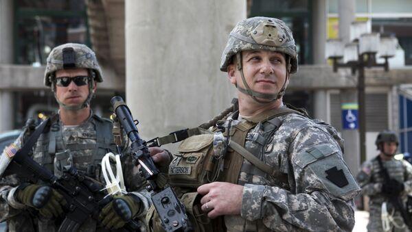 Národní garda USA - Sputnik Česká republika