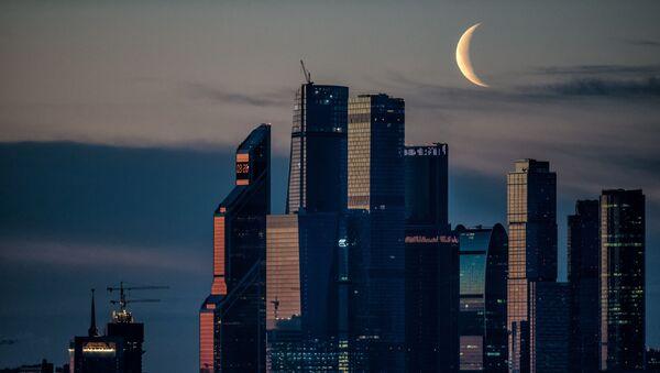 Ruské obchodní centrum Moskva-City - Sputnik Česká republika