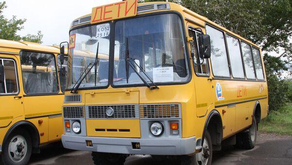 Školní autobusy - Sputnik Česká republika