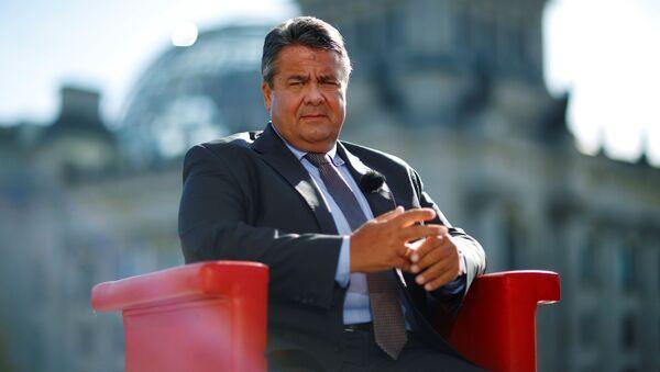Ministr zahraničních věcí Německa Sigmar Gabriel - Sputnik Česká republika