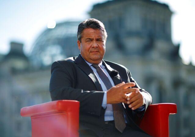 Ministr zahraničních věcí Německa Sigmar Gabriel