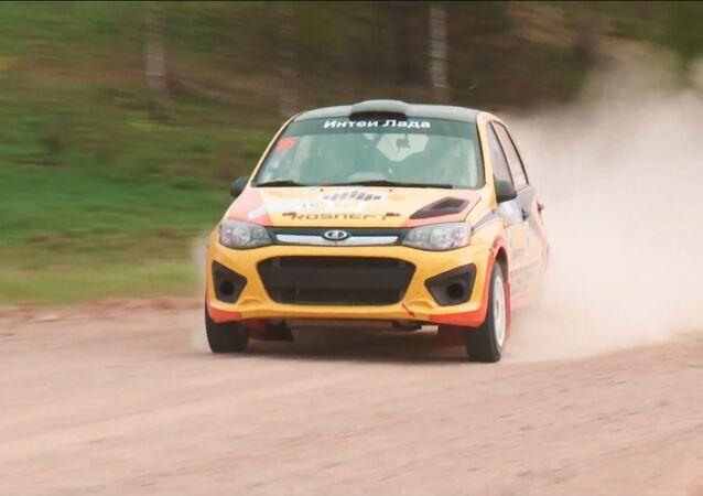 Posádka LADA zvítězila na Mistrovství Ruska v rallye