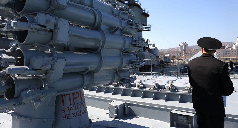 Kalibr na fregatě Admirál Grigorovič