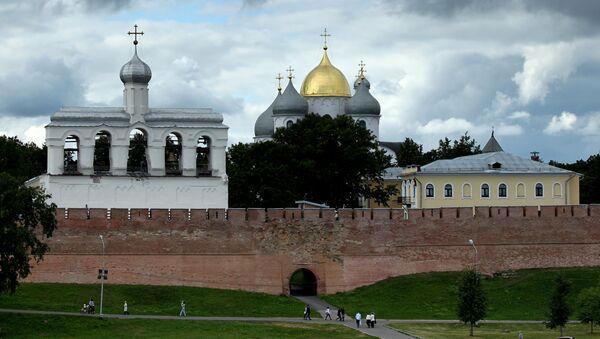 Chrám svaté Žofie v Novgorodě - Sputnik Česká republika