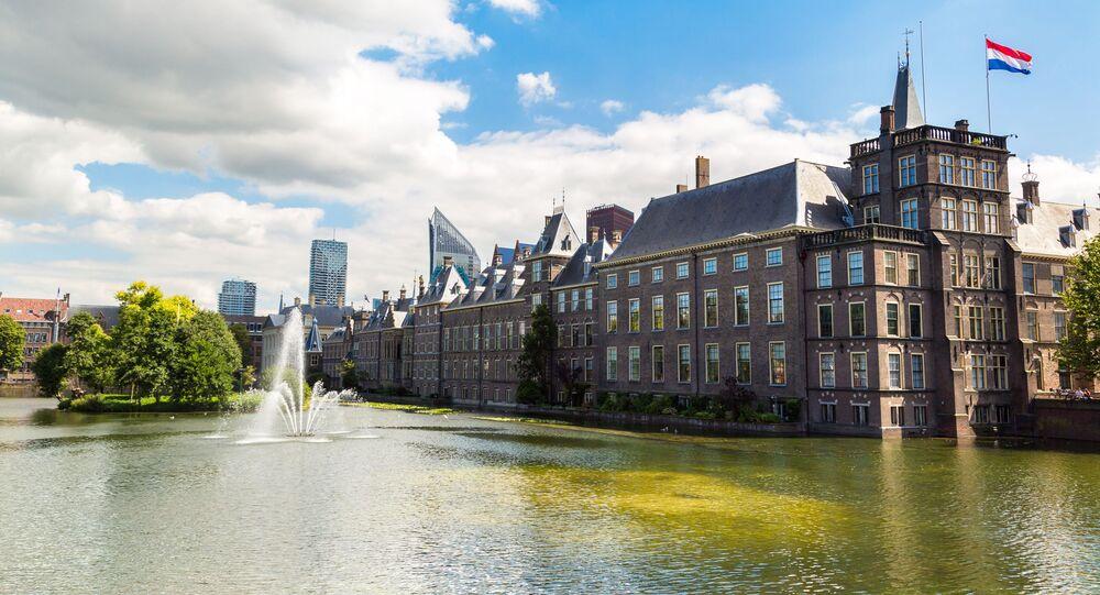Budova nizozemského parlamentu