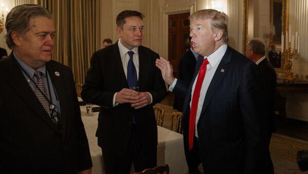 Elon Musk a Donald Trump - Sputnik Česká republika