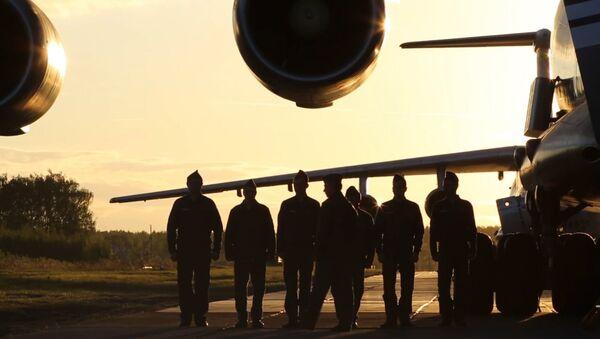 Ministerstvo obrany Ruska zveřejnilo video o službě dopravního letectva - Sputnik Česká republika