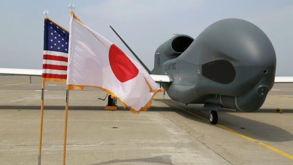 Global Hawk v Japonsku - Sputnik Česká republika