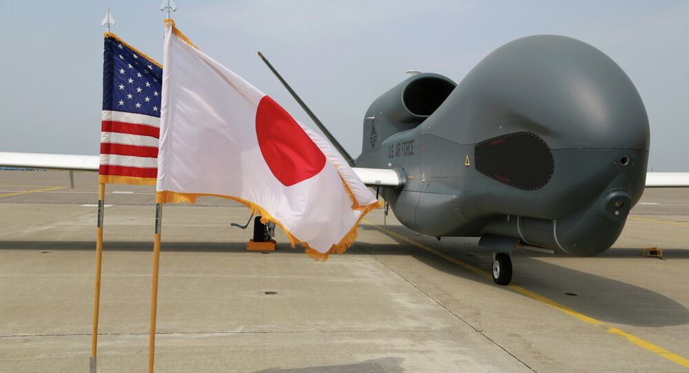 Global Hawk v Japonsku