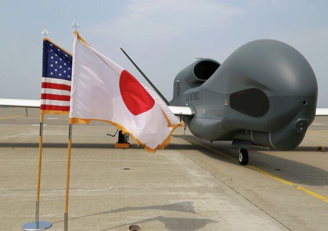Global Hawk v Japonsku