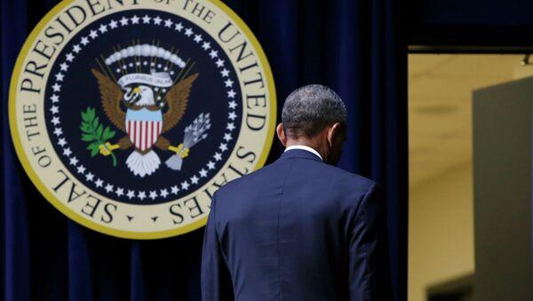 Americký president Barack Obama - Sputnik Česká republika