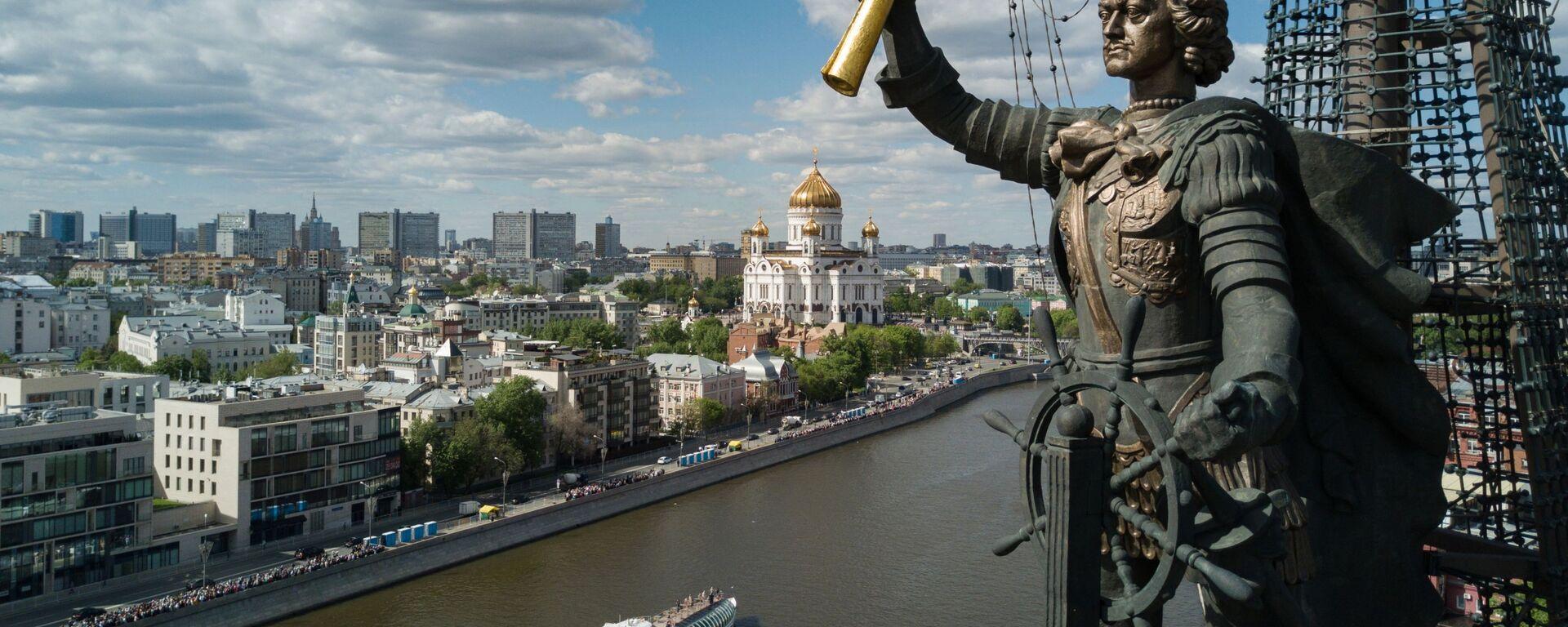 Pohled na Moskvu - Sputnik Česká republika, 1920, 20.05.2021