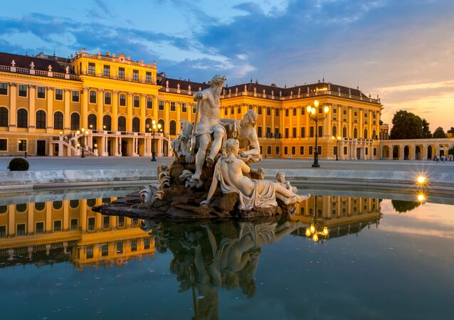 Zámek Schönbrunn v Rakousku