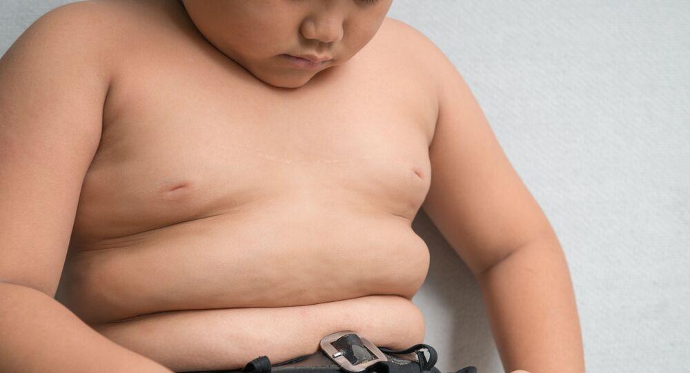 Tlustý chlapec