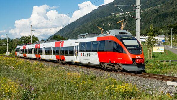 Rakouská železnice ÖBB. Ilustrační foto - Sputnik Česká republika
