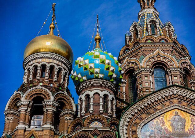 Chrám Kristova vzkříšení v Petrohradu