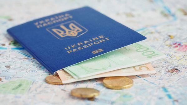 Ukrajinský pas - Sputnik Česká republika