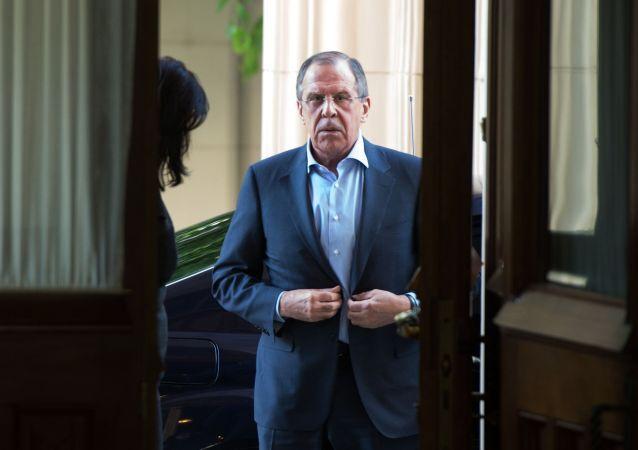 Ruský ministr zahraničních věcí Sergej Lavrov
