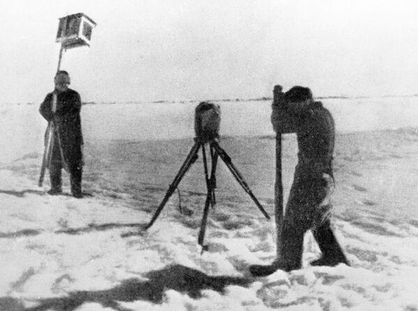 """První ledová driftující stanice na světě """"Severní pól"""" - Sputnik Česká republika"""