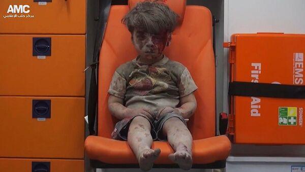Syrský chlapec Omran - Sputnik Česká republika