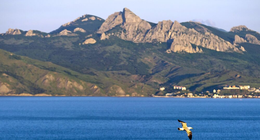 Pohled na přírodní rezervaci na Krymu. Ilustrační foto