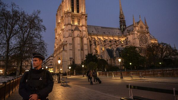 Katedrála Notre-Dame v Paříži - Sputnik Česká republika