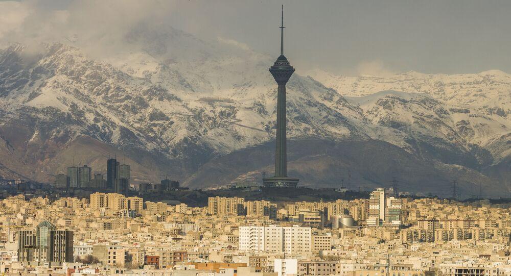 Pohled na Teherán
