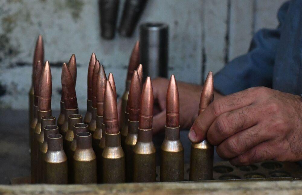 Závod na výrobu nábojů v Sýrii