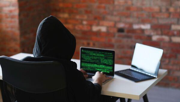 Hacker u počítače - Sputnik Česká republika