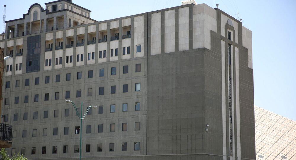 Budova íránského parlamentu. Ilustrační foto