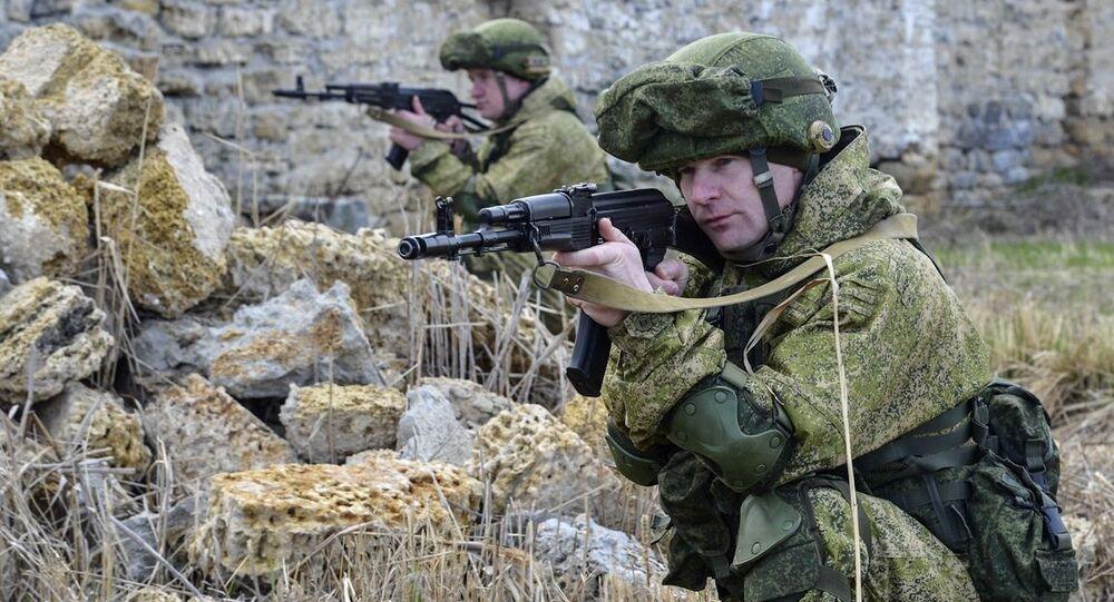 Cvičení ruských vojsk. Archivní foto