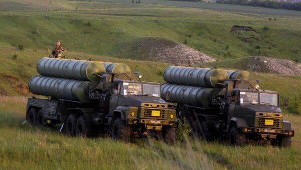 Raketové komplexy S-300. Ilustrační foto - Sputnik Česká republika