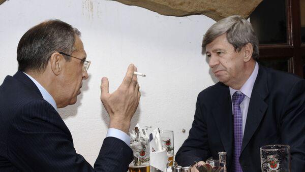 Sergej Lavrov a Eduard Kukan - Sputnik Česká republika