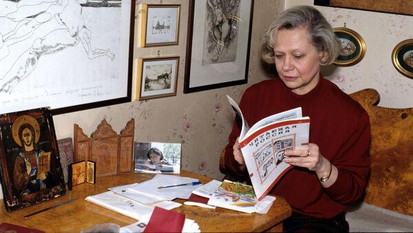 Vnučka a nevlastní dcera Nikity Chruščova Julie - Sputnik Česká republika