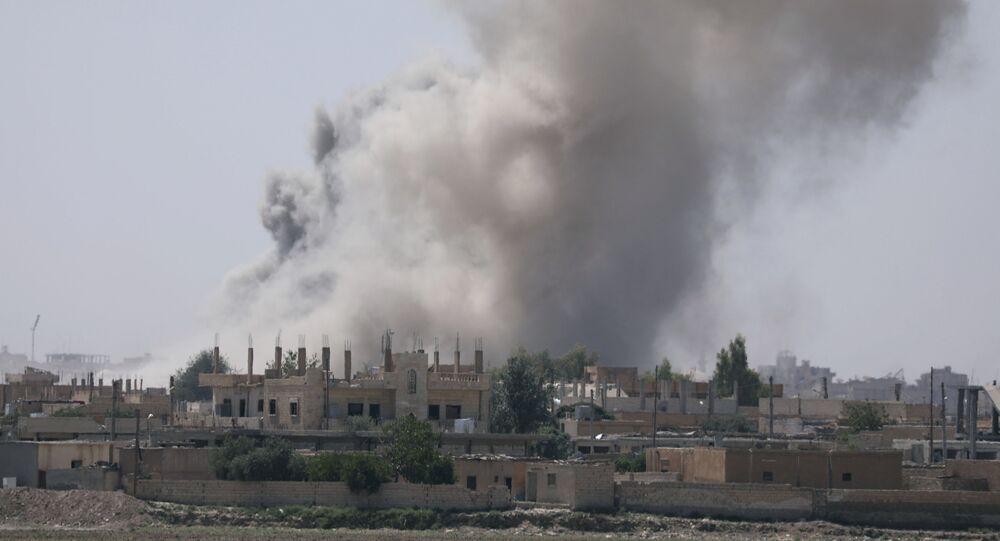 Rakka, Sýrie