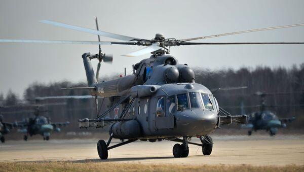 Vrtulník Mi-8AMTŠ - Sputnik Česká republika