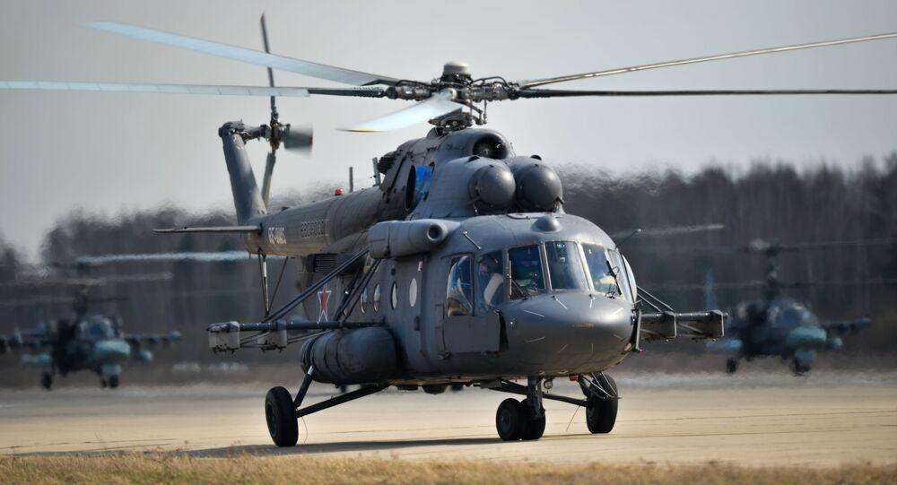 Vrtulník Mi-8AMTŠ