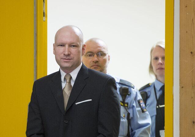 Norský terorista Anders Behring Breivik