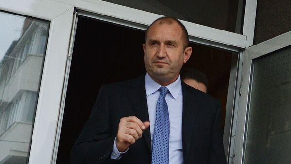 Bulharský prezident Rumen Radev - Sputnik Česká republika
