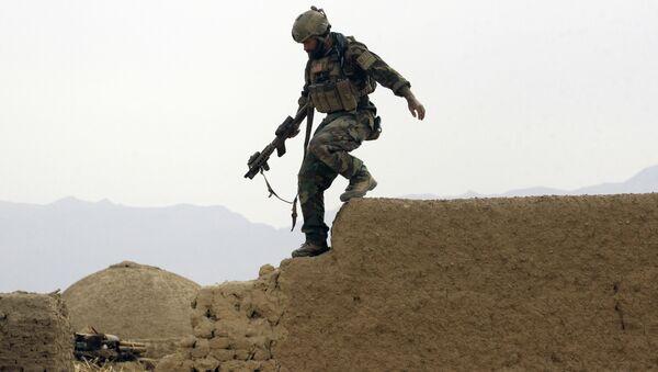 Americký voják v Afghánistánu. Ilustrační foto - Sputnik Česká republika