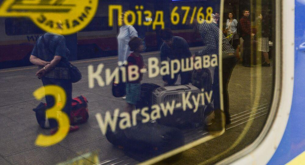 Vlak Kyjev - Varšava