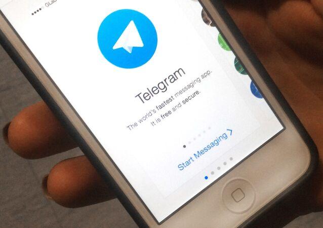 Aplikace Telegram