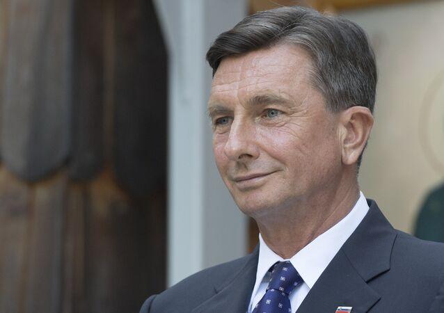 Slovinský prezident Borut Pahor