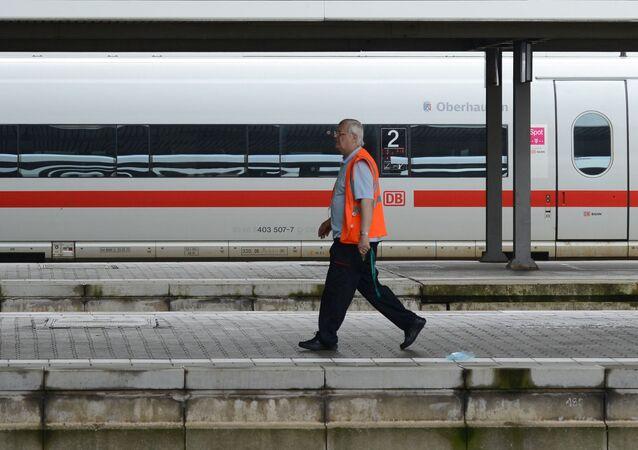 Vlak v Mnichově