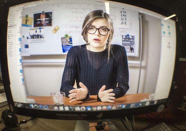 Náměstkyně ukrajinského ministra vnitra Anastasie Dějevová