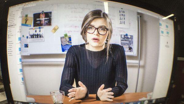 Náměstkyně ukrajinského ministra vnitra Anastasie Dějevová - Sputnik Česká republika
