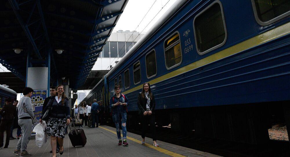 Nádraží v Kyjevě