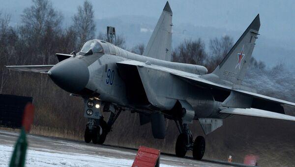 Stíhačka MiG-31 - Sputnik Česká republika
