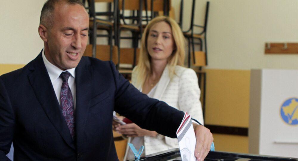 Volby v Kosovu. Ramuš Haradinaj